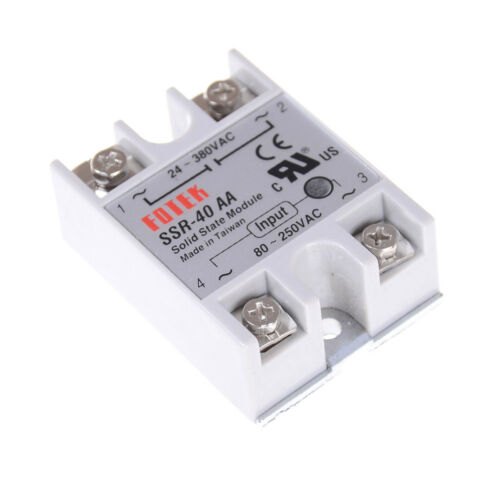 Solid State Relay SSR-40AA 40A AC Relais 80-250V TO 24-380VAC AC SSR dd cdHV.z