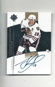 Ultimate-Signatures-hockey-card-Jonathan-Toews-signed-Chicago-Blackhawks