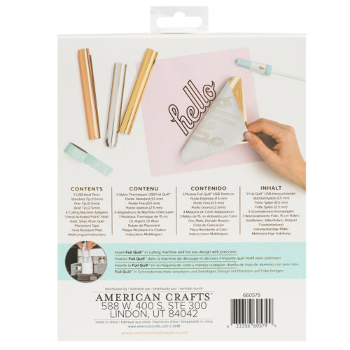 Kreativplotter We R Memory Keepers Foil Quill All-In-One Kit