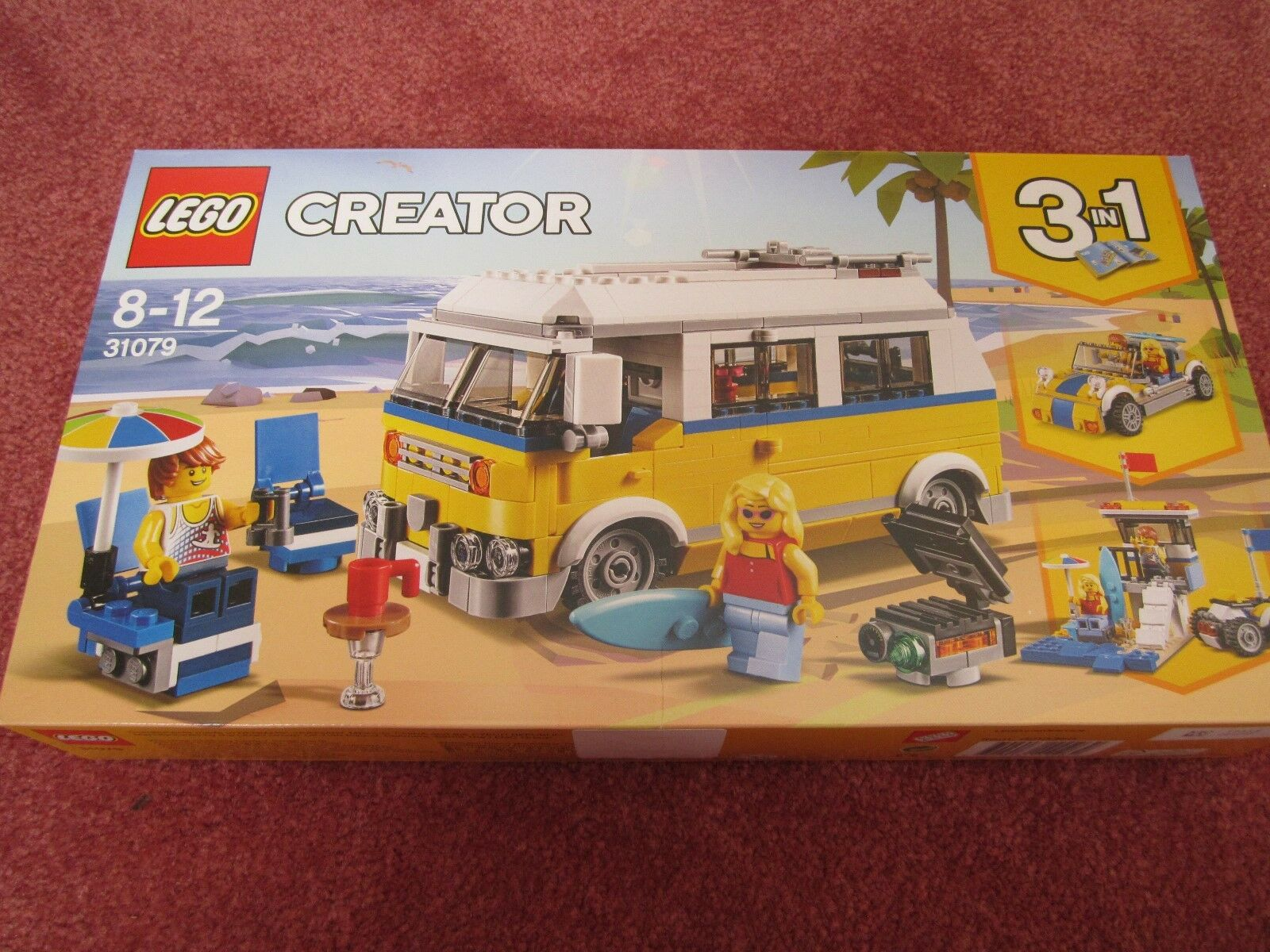 LEGO Creator 3 in 1 Sunshine Surfer Van 31079 - NEW BOXED SEALED