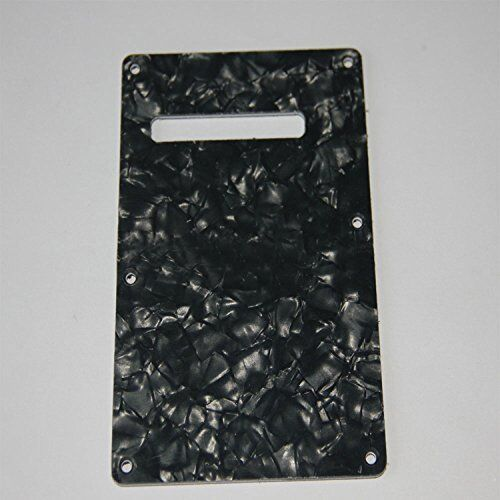 w26 Backplate Guitar Trem//Tremolo Cavity Cover for Fender ST Black