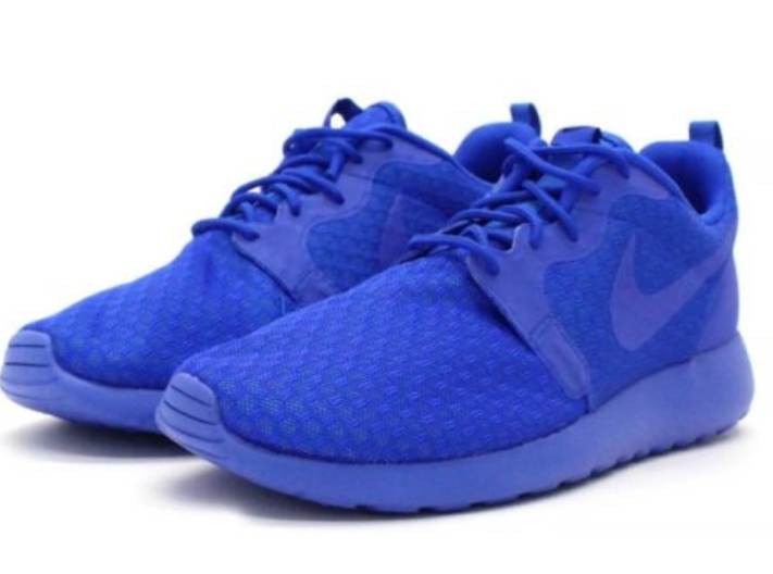 NIKE ROSHE ONE HYPERFINE (636220440) Running Trainers shoes UK 8.5 bluee (6)