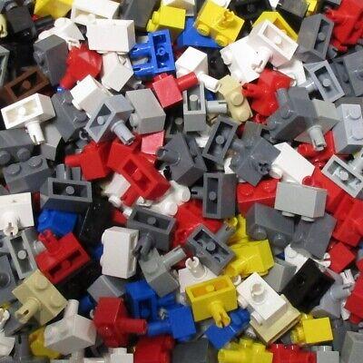 LEGO Baustein 1 x 2 mit Pin dunkel-blaugrau neu 20 x 2458