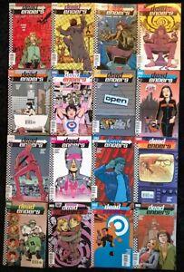 Dead-Enders-1-16-COMPLETE-SERIES-SET-DC-Vertigo-Comics-2000-Ed-Brubaker