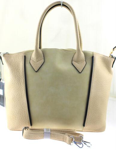 French Collection Womens Girls Ladies PU Leather Stylish Shoulder Bag Handbag