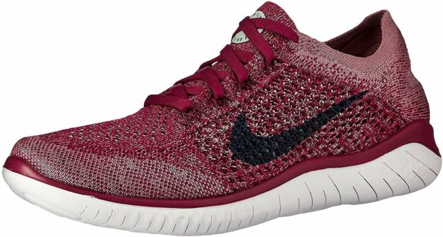 entregar sentido pantalones  Nike RN Flyknit 2018 Women's Running Shoe Size 8 Crimson Style 942839 800  for sale online | eBay