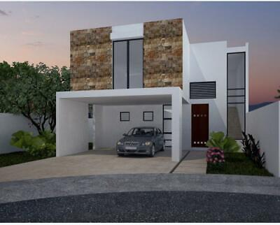 Casa venta en Merida, Parque Central Cholul, con piscina