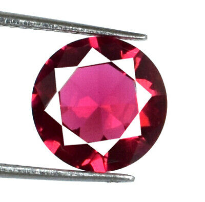 Round Burma Red Ruby Gemstone Pair 6.75 Ct 100/% Natural 9 x 9 mm AGSL Certified