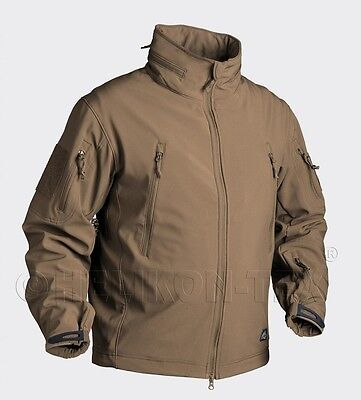 Helikon Tex Pistolero Shark Softshell Giacca Outdoor Jacket Coyote 2xl/xxl-mostra Il Titolo Originale Superficie Lucente