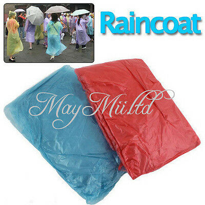Hot Sales 4 PCS New Disposable Adult Emergency Raincoat Camping Travel HT00722
