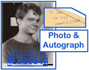 MICHAEL-J-POLLARD-Vintage-Original-Photo-1963-034-THE-STRIPPER-034-AUTOGRAPH-CARD