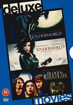 1 of 1 - DVD:UNDERWORLD & UNDERWORLD 2 & BLOOD AND CHOCHOLATE - NEW Region 2 UK