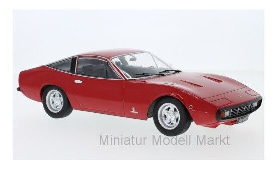 180281 - KK-scale ferrari 365 gtc 4 - rojo - 1971 - 1 18