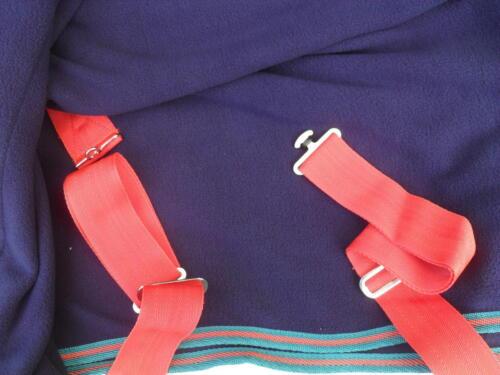 Abschwitzdecke//Sangle Croix Bleu foncé//rouge de nombreux Tailles ηκμ 9838 nouveau