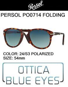 c53bc05525 PERSOL PO 0714 24 S3 polarized 54 Sunglasses folding pieghevole ...