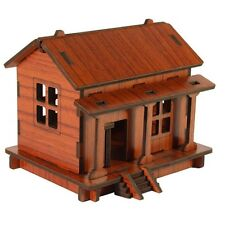 DIY House 3D Puzzle Toys Wooden Adult Children Intelligence Wood House F
