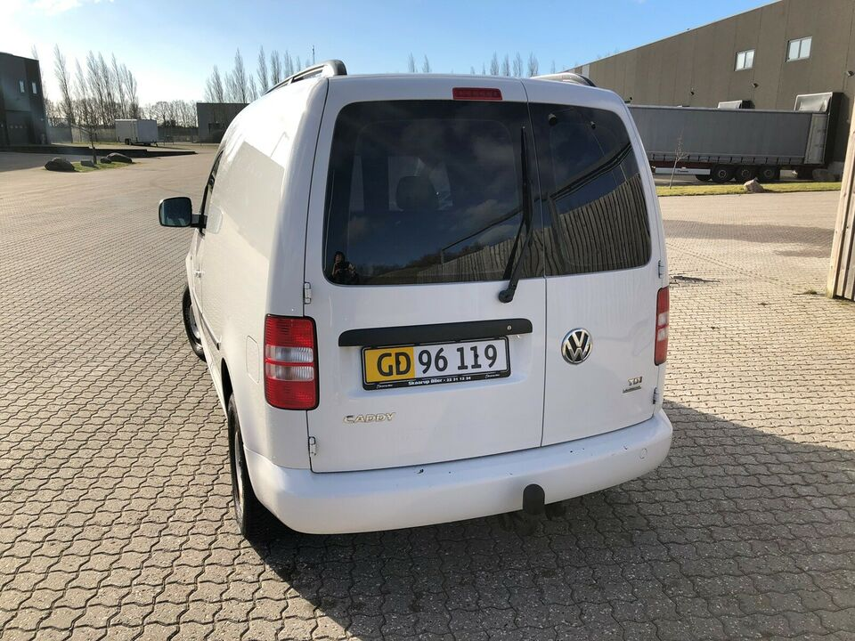 VW, Caddy, 1,6 TDi 102 DSG BMT Van