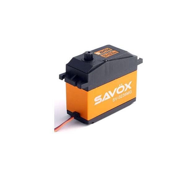 SAVOX Heavy Duty Jumbo in metallo ad Ingranaggi Servo 40kg sav-sv0236mg