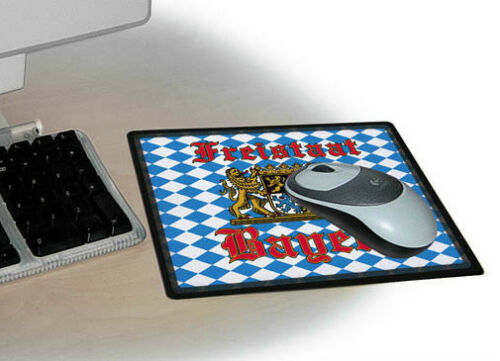 Mousepad Eyecatcher für den Schreibtisch • FREISTAAT BAYERN • 22540 •