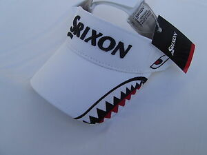 Srixon-Golf-Cap-Visor-Shark-Bite-Cap-Neu