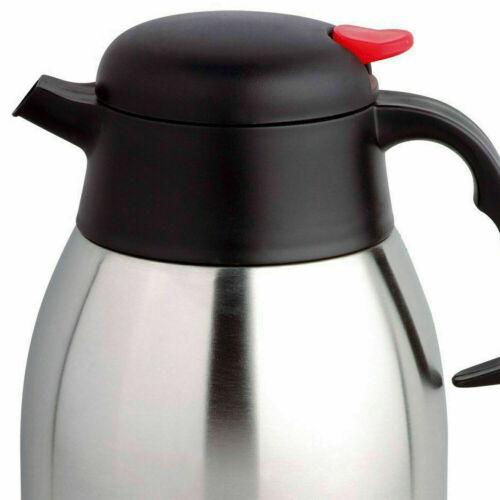 Stainless Steel Unbreakable Flask Jug Travel Hot Cold Vacuum Tea Coffee Mugs New