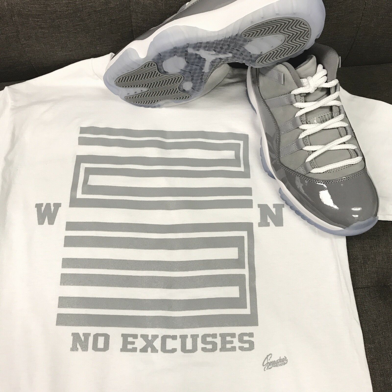 2aa19192c0b59b Shirt Jordan 11 Low Grey - Win 23 Tee Match Cool nwpzwr17362-T ...