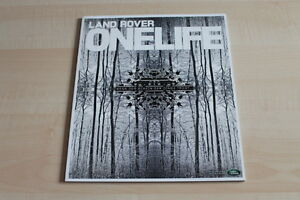 Land Rover One Life 19/2011 Modestil 107317