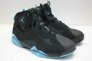 2c9d0789ba54b3 Image is loading Nike-Air-Jordan-True-Flight-Basketball-Shoes-Black-