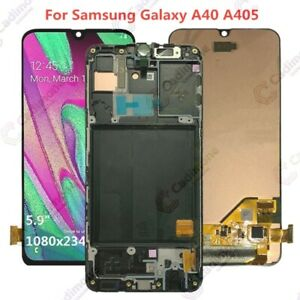 ECRAN-LCD-pour-Samsung-Galaxy-A40-A405-Ecran-tactile-numeriseur-cadre-AR02FR