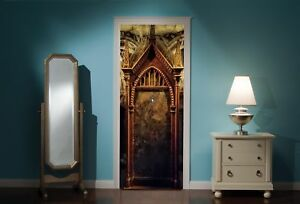 Door-Mural-Harry-Potter-mirror-of-erised-desire-Wall-Stickers-Decal-38A