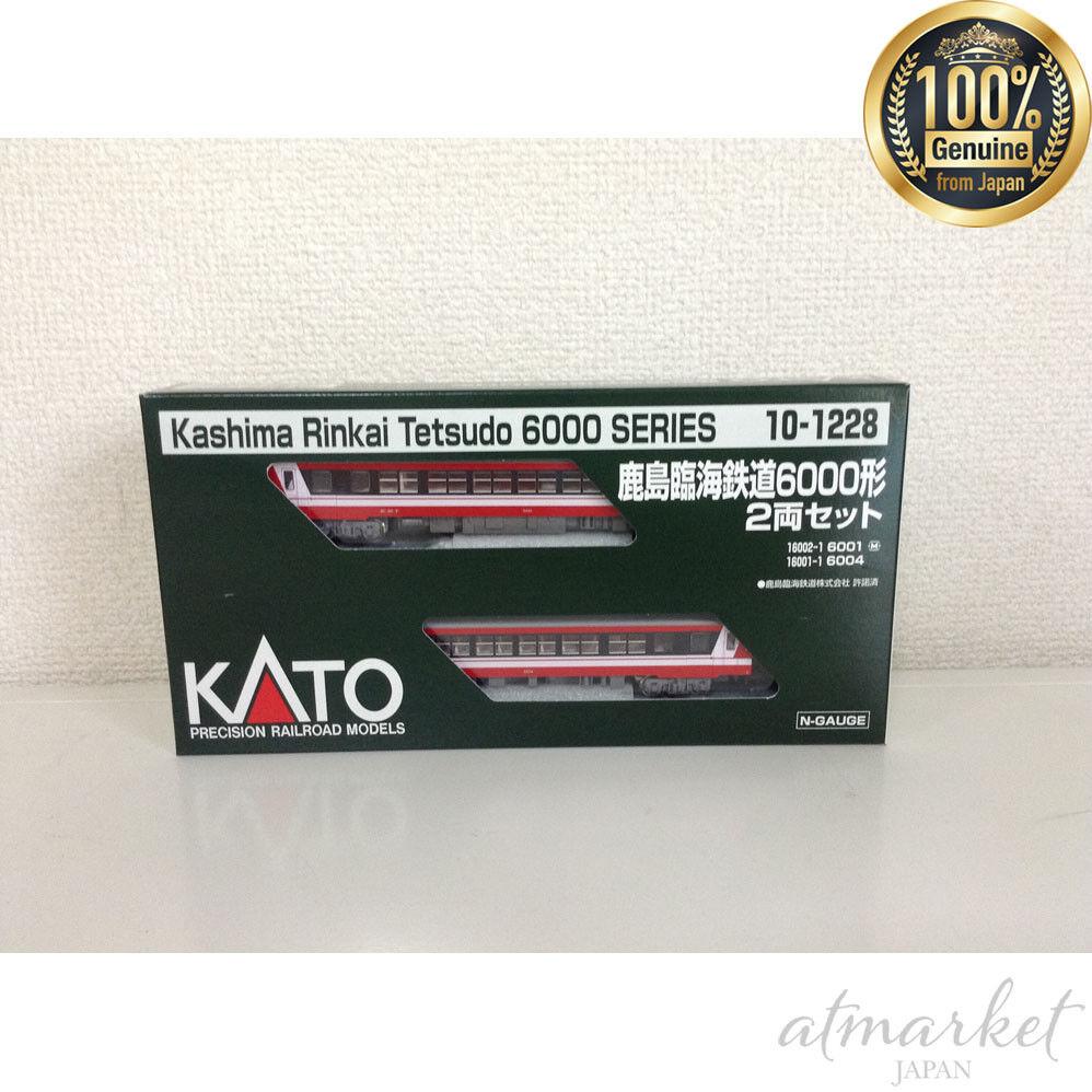Kato 10-1228 Kashima Rinkai Ferrocarril 6000 clase 2Car Conjunto en caja 100% Nuevo Japón