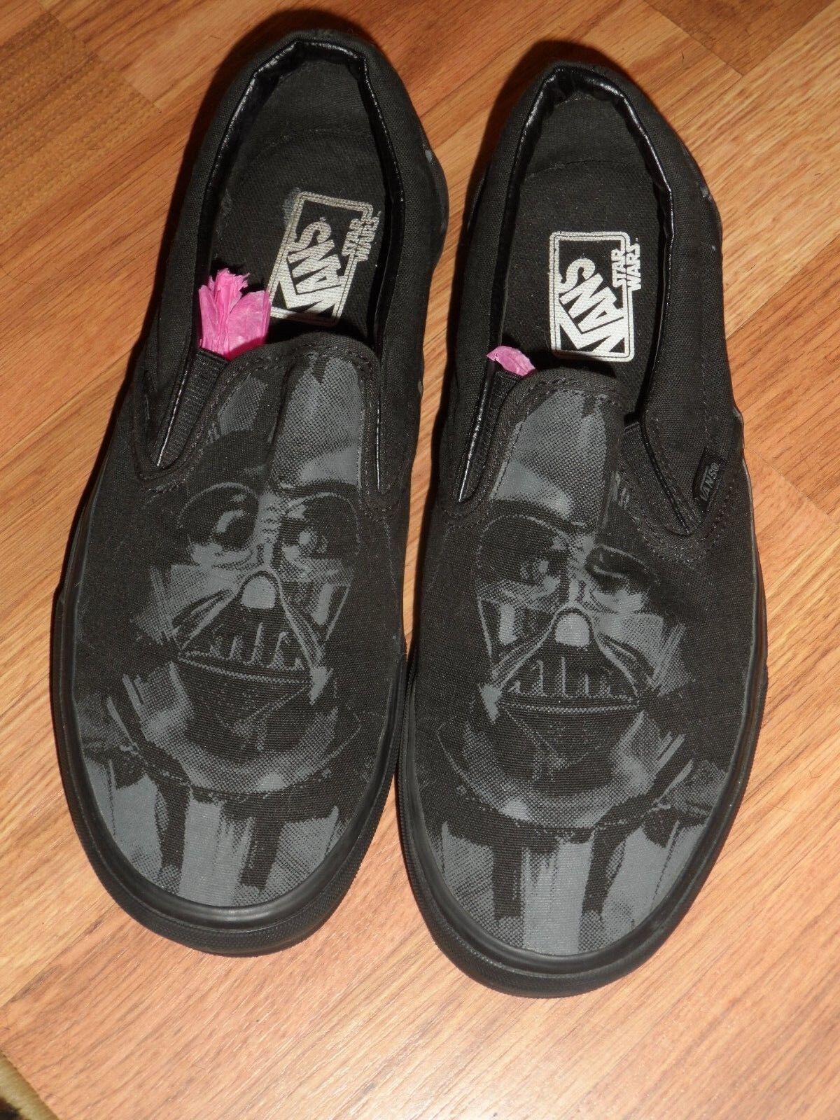 Men 7.5 femmes 9  Star Wars Dark Vador  Vans chaussures