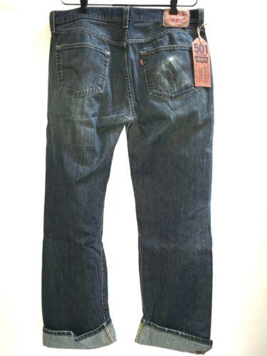 Levi's 501 Jeans Distressed Work Vintage Denim  3… - image 1