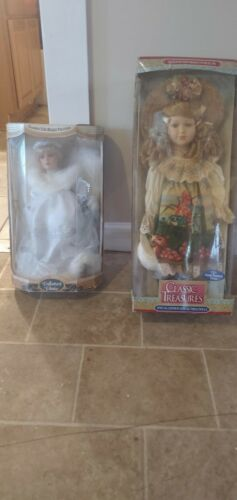 2 Collector Dolls