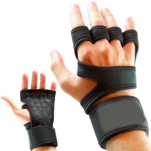 M Workout Silicone Grips Fitness Crossfit Wrist Support Cross Training Gloves