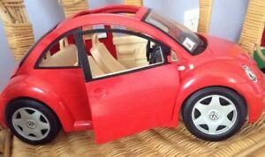 Image Is Loading 2000 Mattel Barbie Doll Toy Vw Volkswagen Beetle