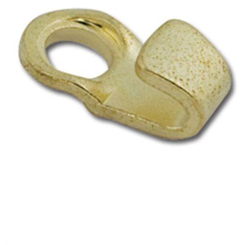 Lace Hooks Brass 10//pk Tandy Leather 1234-01