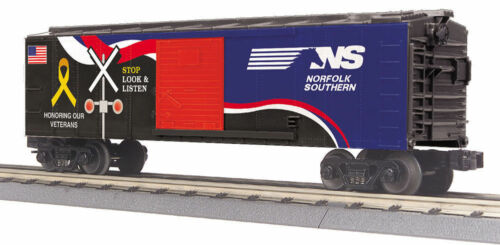 MTH 30-74886 Norfolk Southern Box Car w//Blinking LEDs