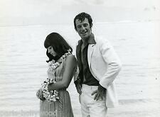 JEAN-PAUL BELMONDO STEFANIA SANDRELLI TENDRE VOYOU 1966  PHOTO ANCIENNE N°2