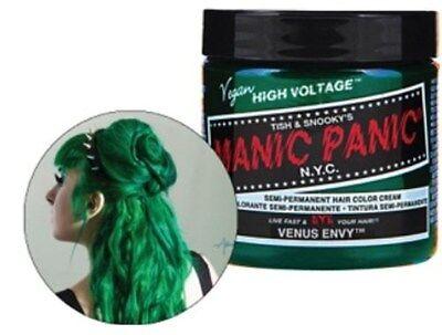 New Punk Manic Panic Cream Formula Semi-Permanent Hair Color Dye All Colors 4 oz
