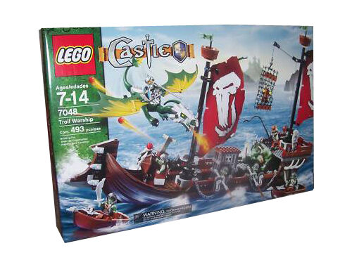 Lego Troll Warship For Sale Online Ebay