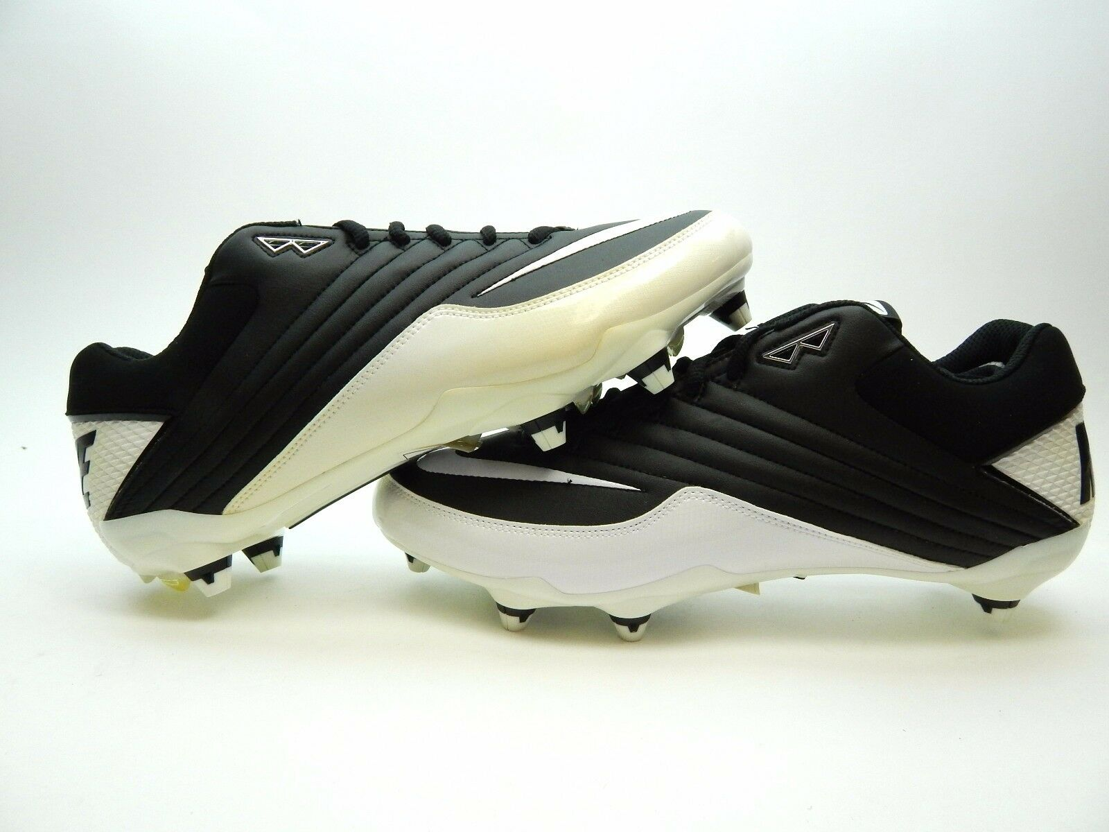 NIKE SUPER SPEED D WHITE BLACK NEW WITH DEFECTS MEN SHOES SIZE 12.5