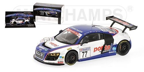 Audi R8 Rostek Thim Rast Vln Nurburgbague 2009 1  43 Model MINICHAMPS  protection après-vente