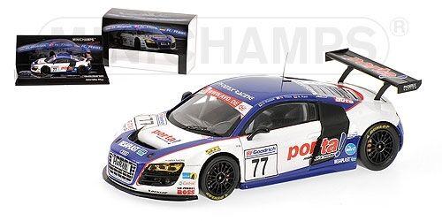Audi R8 Rostek Thim Rast Rast Rast Vln Nurburgring 2009 1:43 Model MINICHAMPS 18822f