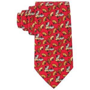 ff6f91085d88a Hermes Vermelho Estampa leque Japonês 5 Gravata De Seda dobra 7237 ...