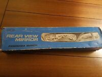 Vintage Toyo Universal 17 (440mm) Panoramic Rear View Mirror 180 Degree Japan