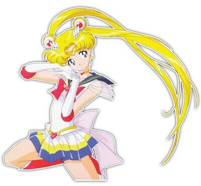 Sailor Moon Usagi Tsukino Anime Car Window JDM Decal Sticker 0007