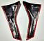 For 2012-2017 Subaru XV Crosstrek Carbon Fiber Rear Window Strip Protection Trim