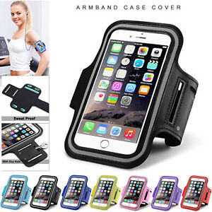 Running Arm Band Gym Jogging Sports Phone Holder Case For Iphone 12 11 Xr 8 7 6 Ebay