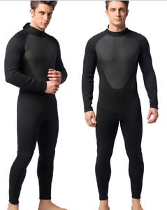 Men 3mm Neoprene Diving Suits Scuba Snorkeling Jump  Free Dive Full Body Wetsuits  cheap and high quality